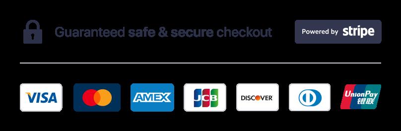 Guaranteed Safe Checkout image